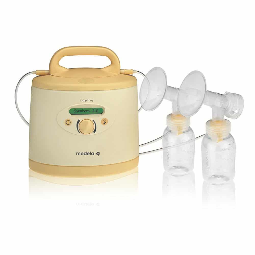 symphony breast pump