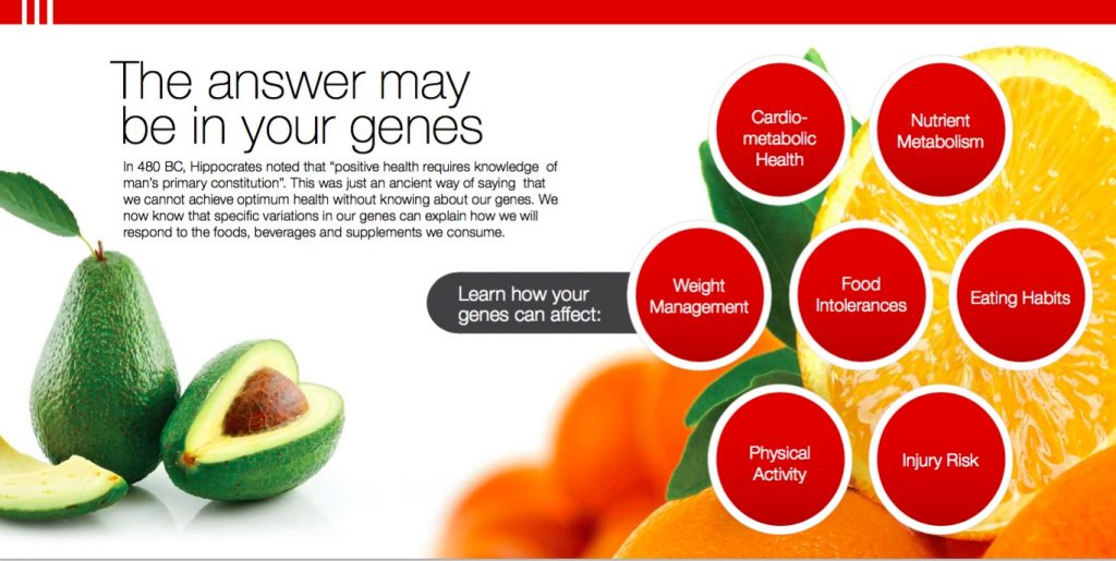 Nutrigenomix - Answers In Your Genes